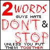 2words guys hate