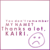 Forgot Kairi