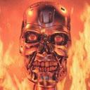 Terminator Metal Skull